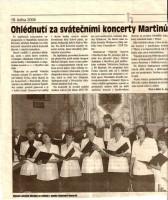 Ohlédnutí za svátečními koncerty Martinů