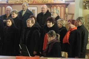 Vánoční koncert PSM, Katolický kostel Bukovec, 2010