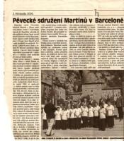Pěvecké sdružení Martinů v Barceloně