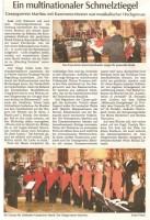 Gesngverein Martinu mit Kammerorchester war musikalischer Hochgenuss